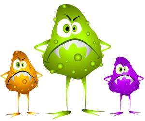 unhappy gut flora